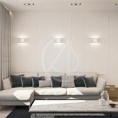 Modern Minimal Interior Design Minimalist living room by Comelite Architecture, Structure and Interior Design Minimalist