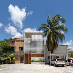 by BRMDZ ARQUITECTOS Tropical لکڑی Wood effect