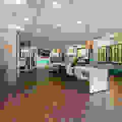 ontwerp optiekzaak Moderne kantoor- & winkelruimten van Dit is Ilse interieuradvies Modern