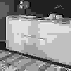 Decordesign Interiores ห้องทานข้าวตู้เก็บของ แผ่นไม้อัด White