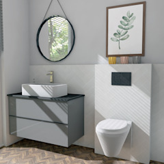 Ijburg Minimalistische badkamers van LaTr Interior Minimalistisch