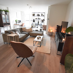 Project Haarlem-Centrum Industriële woonkamers van Mare Interieuradvies Industrieel