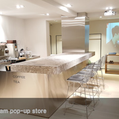 Theory 한남 팝업 스토어(2017) 모던 스타일 쇼핑 센터 by 한성모듈러(주) 모던