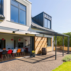 Eco-Tech Home in York by Townscape Architects Modern