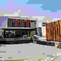 NAG de DOF Arquitectos Moderno Madera Acabado en madera