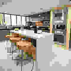 VIVIENDA FQ de PAR Arquitectos Moderno Aluminio/Cinc
