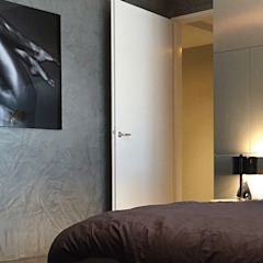 Luxe appartement Moderne slaapkamers van ZO ingericht Modern
