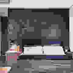Paredes y pisos minimalistas de 思維空間設計 Minimalista