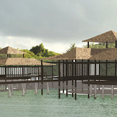 Kendhivaru Island Resort by Deon Smith Architects