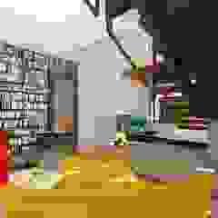 Albert Road, Tamboerskloof Modern Corridor, Hallway and Staircase by Inline Spaces Pty Ltd Modern