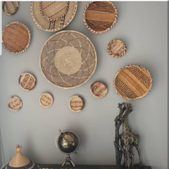 par Bazzi Designs Industriel Bambou Vert