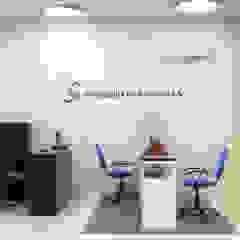 Diseño de oficina para servilogistica del pacifico. de Nuvú - Lideres en espacios comerciales.