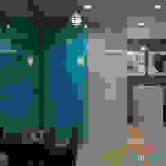Projekt salonu fryzjerskiego MANUFAKTURA FRYZUR w Białej od Archi group Adam Kuropatwa Nowoczesny