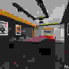 Kino w domu - różne projekty. od MAXDESIGNER Nowoczesny