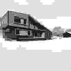 Diseño de Casa Rural en Coyhaique casa rural - Arquitectos en Coyhaique Casas unifamiliares