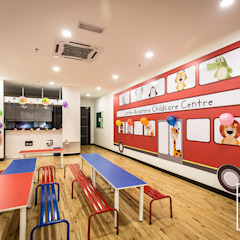 COMMERCIAL - CHILDCARE CENTRE, PUTRAJAYA by Dezeno Sdn Bhd Modern Wood Wood effect