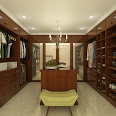 Classic style dressing rooms by SEVARK Classic