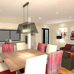 Diseño interior Online Comedores de estilo moderno de Deco Abitare Moderno