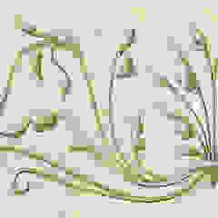 Renaissance Wallpaper Frieze Fiorentini Design Walls Beige