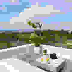 توسط Daniel Cota Arquitectura | Despacho de arquitectos | Cancún مدرن چوب Wood effect