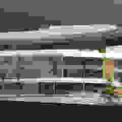 Tropical style clinics by José Luis Mateos García Tropical Engineered Wood Transparent