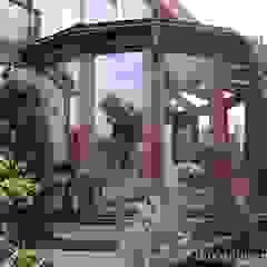 Ogród zimowy Gracja Classic Klasyczny ogród zimowy od GRACJA SP. Z O.O. Klasyczny Drewno O efekcie drewna