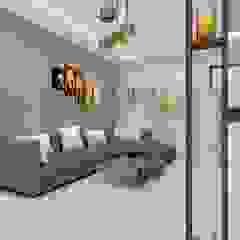 Azjatycki salon od Jamali interiors Azjatycki