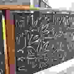 Fachadas, paneles decorativos, Chapa calada de Ontech Moderno