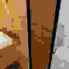 Mini CASA Container Banheiros minimalistas por Giselle Wanderley arquitetura Minimalista Cerâmica