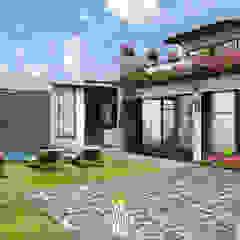 Mediterranean style balcony, porch & terrace by FA Arquitectos Mediterranean