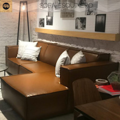 L´ ATELIERA Living roomSofas & armchairs Textile Brown