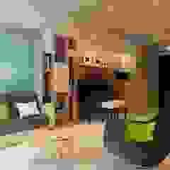 by Nguyen Phong Thiết kế nội thất Scandinavian MDF