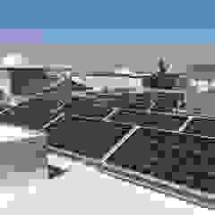 od CORSA grupo constructor / CORSA energia solar Nowoczesny Żelazo/Stal
