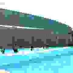 من Brassea Mancilla Arquitectos, Santiago حداثي الخرسانة
