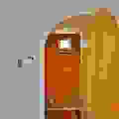 荒川の複合住宅 モダンデザインの ドレッシングルーム の ユウ建築設計室 モダン