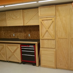 by Lado Norte Taller Industrial Wood Wood effect