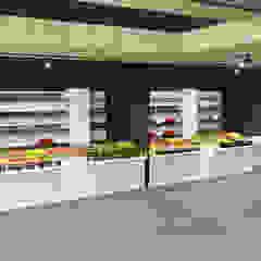 Creación de un mercado Gastronomía de estilo moderno de GODADESIGN Moderno