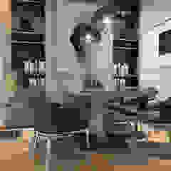 Mediterranean style dining room by 1:25 Studio Mediterranean