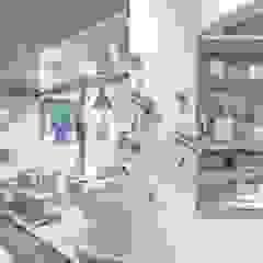 Locais de eventos minimalistas por flamingo architects Minimalista