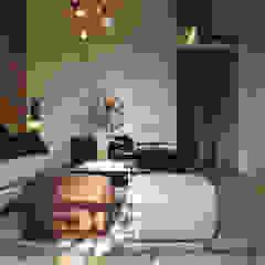 Apartment in Barcelona Industriële woonkamers van Lily Orlova Industrieel