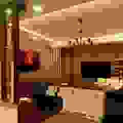 Ruang Keluarga Modern Oleh Manglam Decor Modern