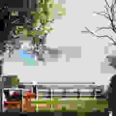 CGI - Incolballet Paredes y pisos de estilo moderno de ArmyOne Moderno