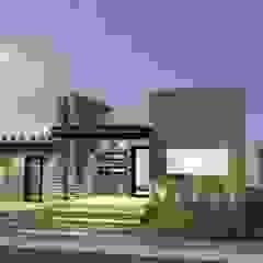 Fachada principal grupo ME Arquitectos Casas unifamiliares