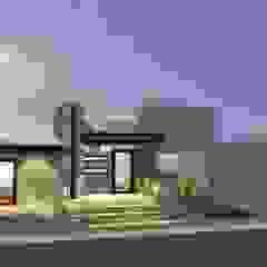 Fachada grupo ME Arquitectos Casas modernas