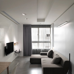 Salon moderne par 形構設計 Morpho-Design Moderne