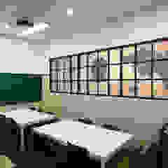 학원인테리어 - 토마스국제어학원 모던 스타일 학교 by IDA - 아이엘아이 디자인 아틀리에 모던 MDF