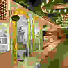 웨딩홀 뷔페인테리어 - 트리니티웨딩 모던 스타일 호텔 by IDA - 아이엘아이 디자인 아틀리에 모던 금속