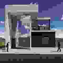 La casa 10 de Arq. Bruno Agüero Moderno Concreto