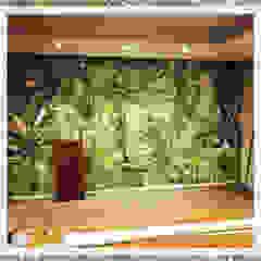 Paredes e pisos tropicais por Tecnografica Tropical
