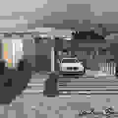 من Celis Bender Arquitetura e Interiores صناعي الخرسانة